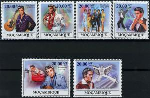 Mozambique MNH Elvis Presley Rock & Roll Singer 2009