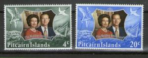 Pitcairn 127-128 MNH