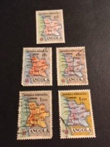 Angola sc 386-389,391 u