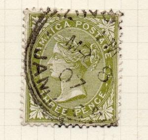 Jamaica 1906 Early Issue Fine Used 3d. 283670