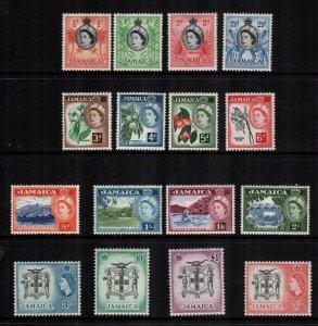 Jamaica  159 - 174  MH cat $ 44.00