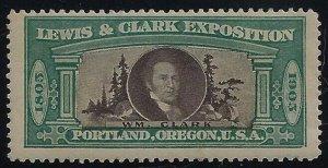1905 Lewis & Clark Exposition Cinderella William  Wm. Clark Mint LH