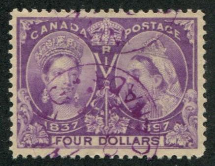 Canada SC# 64 (SG# 139) Victoria Jubilee $4.00 canceled