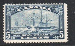 Canada Sc  202 1933 5 c UPU Meeting Ottawa stamp  mint