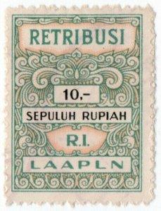 (I.B) Indonesia Revenue : Judicial Fee (Retribusi) 10R