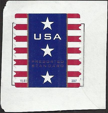 P.N.C. V333 # 4157 USED PATRIOTIC BANNER