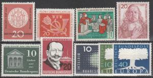 Germany #763-6, 768-72 MNH  CV $9.45 (S1535)
