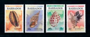 [99635] Barbados 1997 Marine Life Sea shells  MNH