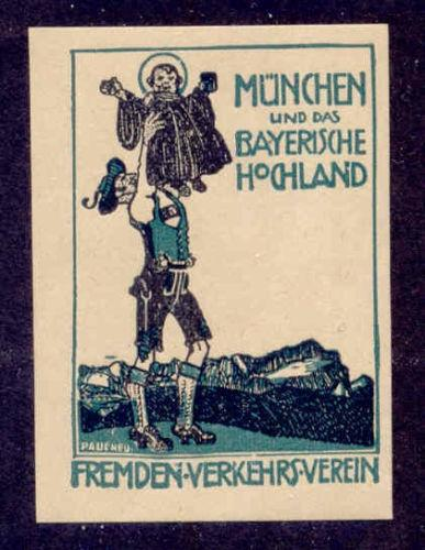 Germany - Munich Monk Poster Stamp