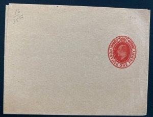 Mint 1914 England Wrapper Postal Stationery