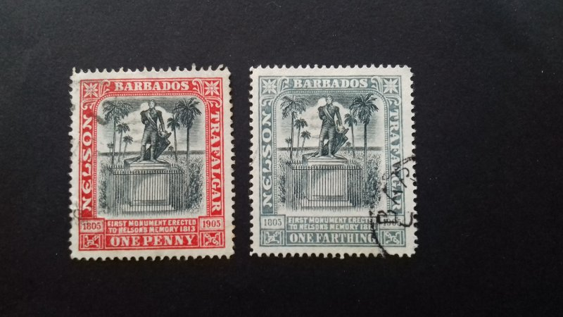 Barbados 1906 The 100th Anniversary of the Battle of Trafalgar Used