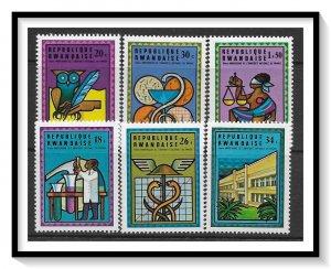 Rwanda #675-680 National University Anniversary Set MNH