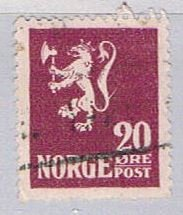 Norway Lion 20 - pickastamp (NP38R708)