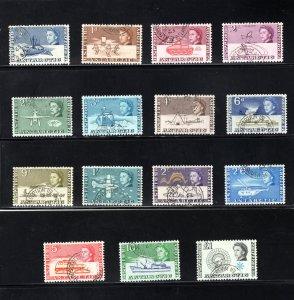 British Antarctic Territory #1-15, VF, Used, CV $122.95  ..... 0790001