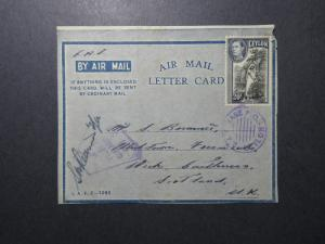 Ceylon WWII Forces Cover / RAF Censor / FRONT ONLY  - Z12300
