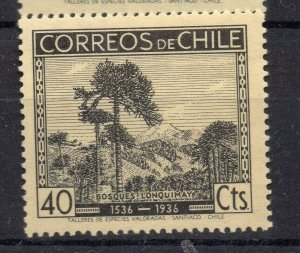 Chile 1936 Anniversary Issue Mint hinged Shade of 40c. NW-12984
