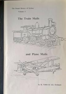 Postal History of Sydney Train & Plane Mails Australia Airmail TPO Tobin Pmks