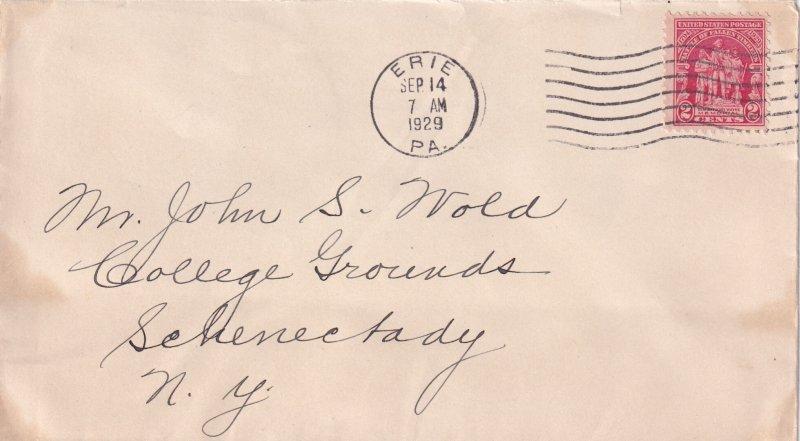 1929, 2c Sc #680, No artist, FDC (E11851)