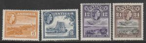 Antigua  1953  Scott No. 113-16  (N*)