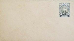 A) 1910, EL SALVADOR, POSTAL STATIONARY, PEDRO JOSE ESCALON, BLUE