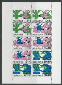 Netherlands # B441a Fairy Tales  - miniature Sheet/10  (1) Mint NH
