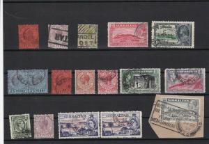 gibraltar stamps   ref r12010