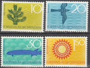 Liechtenstein #406-9   MNH   (S9372)