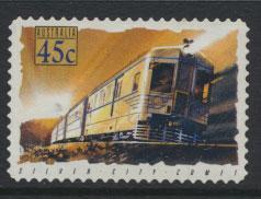 Australia SG 1414  Used  -Trains self adhesive
