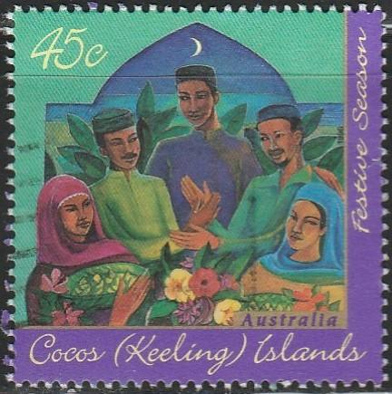 Cocos Islands, #316 Used From 1996