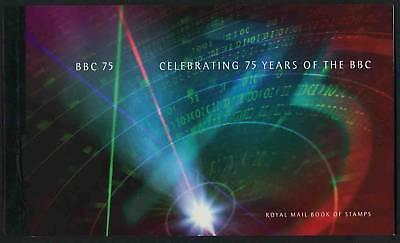 Great Britain BK162 Booklet MNH Radio, Celebrating 75 Years of the BBC