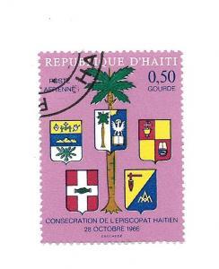 Haiti 1968 - Scott #C302