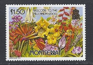 Montserrat #999 MNH CV $2.25