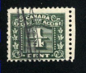 Canada 1/4 cent excise    u  PD