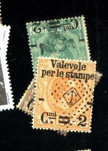 Italy#61-3 used fvf  Cat $96