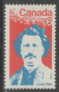 CANADA SG657 1970 LOUIS RIEL COMMEMORATION MNH