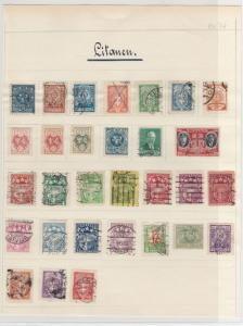 Lithuania Early Stamps Ref: R6314