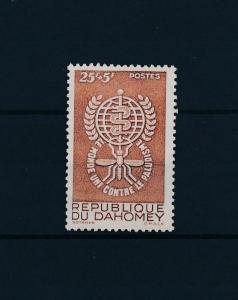 [50159] Benin Dahomey 1962 Insects Fight Against Malaria Mosquito  MNH