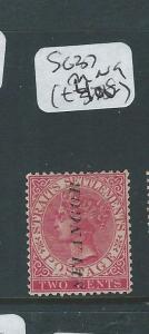 MALAYA  SELANGOR (P0510B) 2C QV SG 37  MNG