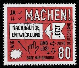 Germany 2020, Michel# 3525 used Sustainable Development