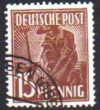 Mi:948 a  1947 used Cat €  15.00
