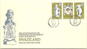 Swaziland, Worldwide First Day Cover, Royalty