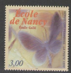 FRANCE SG3589 1999 NANCY SCHOOL(ART MOVEMENT) MNH