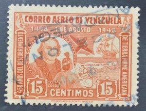 Venezuela  Scott C280 Used Airmail