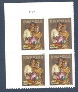 5337 Kwanzaa Forever Plate Block Mint/nh FREE SHIPPING