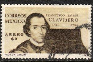 MEXICO C386 Father Clavijero, Jesuit historian. Used. VF. (1190)