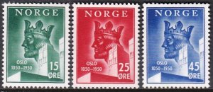 NORWAY 1950 OSLO CITY TOWN ANNIVERSARY [#785]