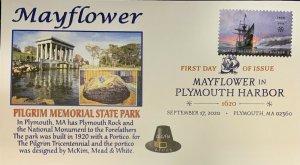 AFDCS 5524 Mayflower Plymouth Harbor Pilgrim Memorial State Park Mass DCP