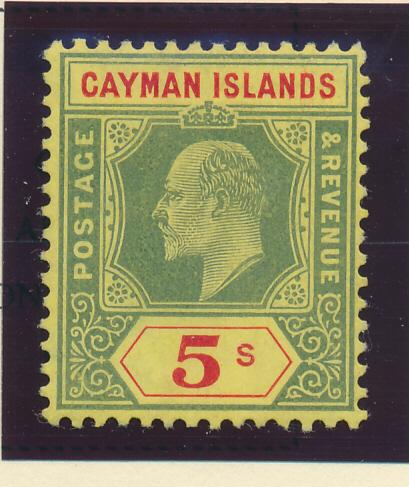 Cayman Islands Stamp Scott #28, Mint Lightly Hinged - Free U.S. Shipping, Fre...