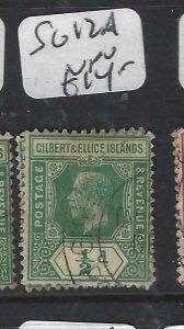 GILBERT & ELLICE IS (P0307B)  KGV 1/2 D  SG 12A   VFU
