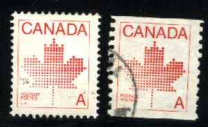 Can #907-08   -4  used VF 1981 PD